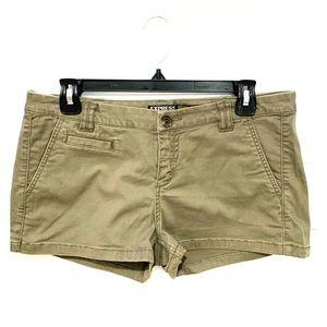 Express shorts, army green